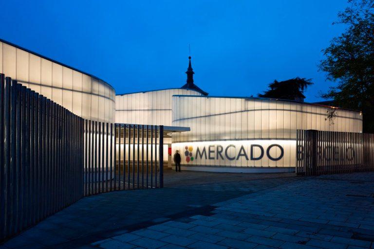 Barceló temporary market lighting project, 2008 / Nieto Sobejano architects