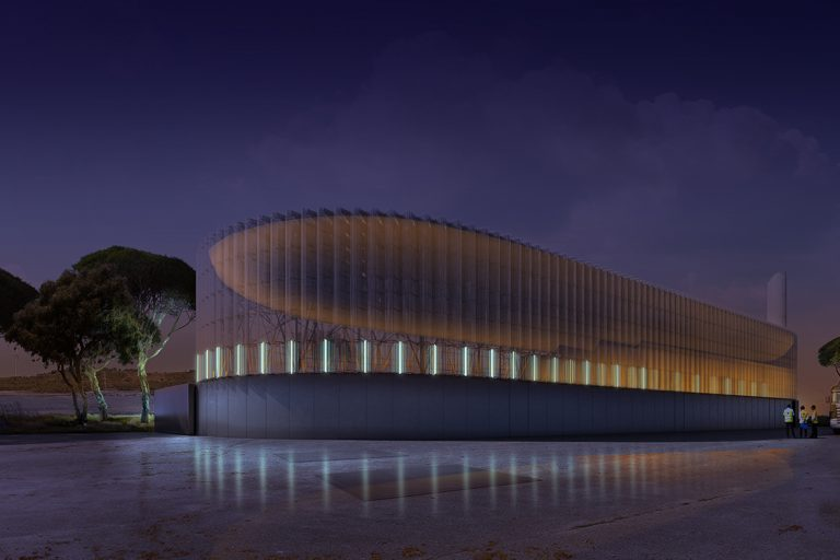District Heating Biomass Power Plant, 2020 / FRPO architects